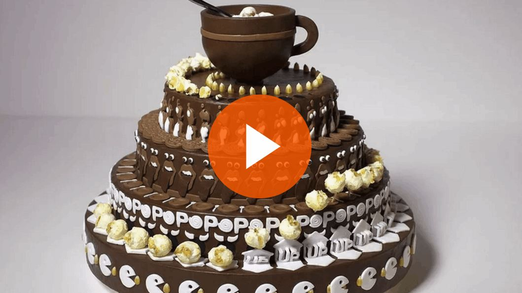 Mesmerizing Animated Cake