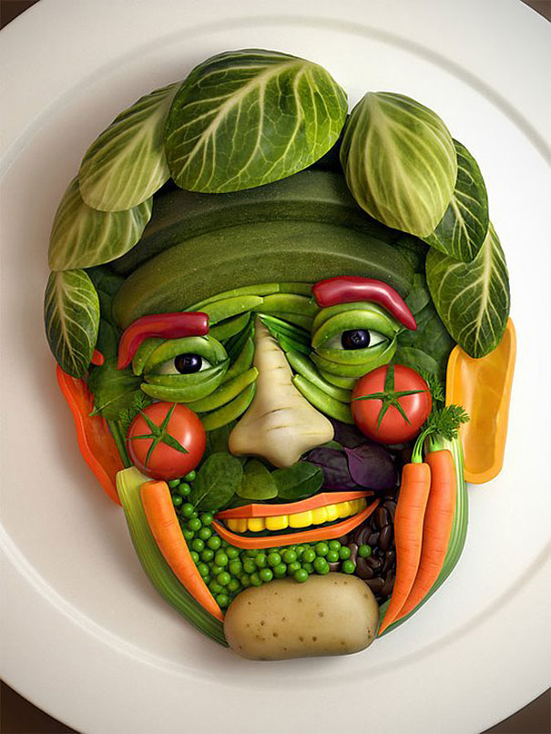 Still cracking 13 creative food art ideas still cracking for Creation cuisine