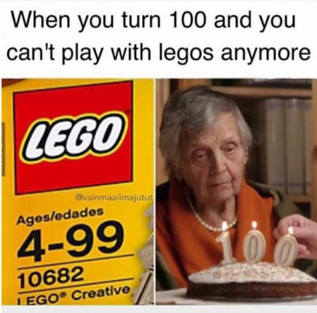 Giving Up Lego is The Biggest Sacrifice