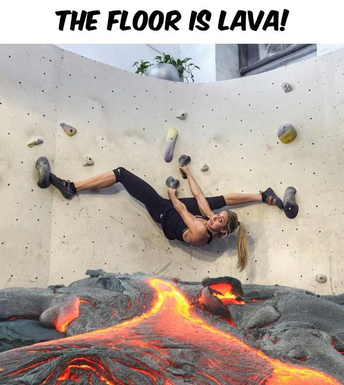 Incredible Lava Floor
