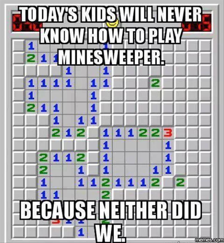 funny pics, lol pics, minesweeper jokes