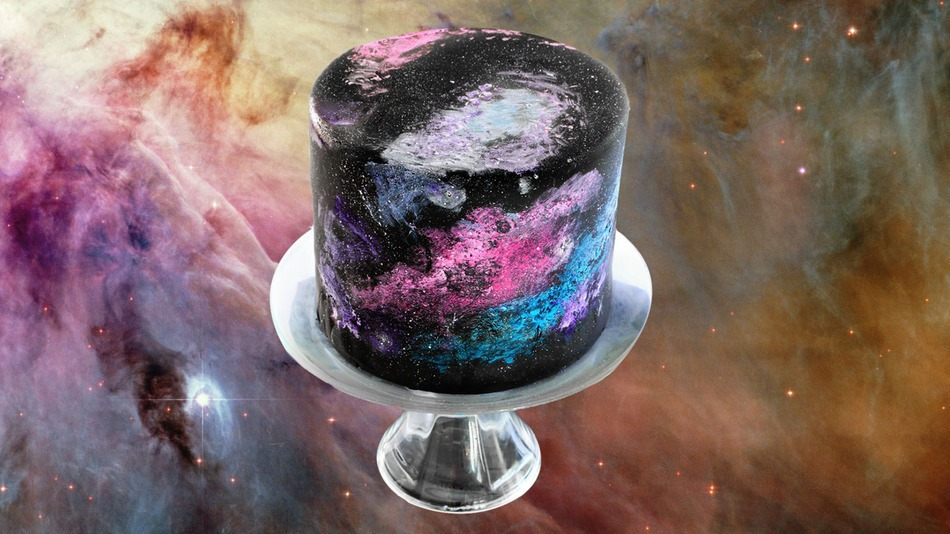 Black Cosmos Cake is Out Of This World And Galaxy Apart From Other Cakes