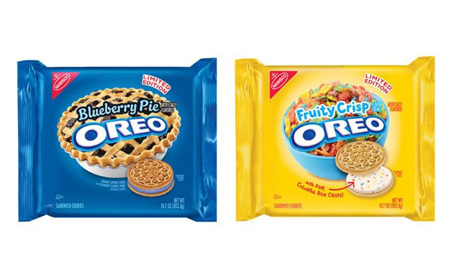 Blueberry Pie and Fruity Pebble Oreos