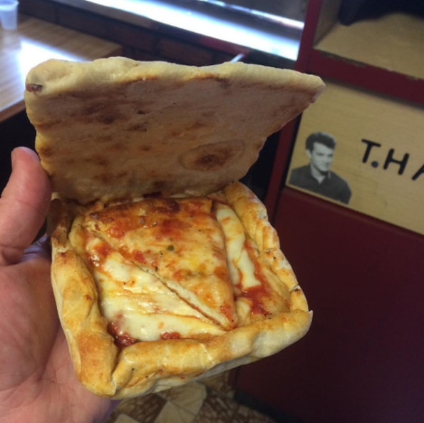Pizza Engagement Ring Box