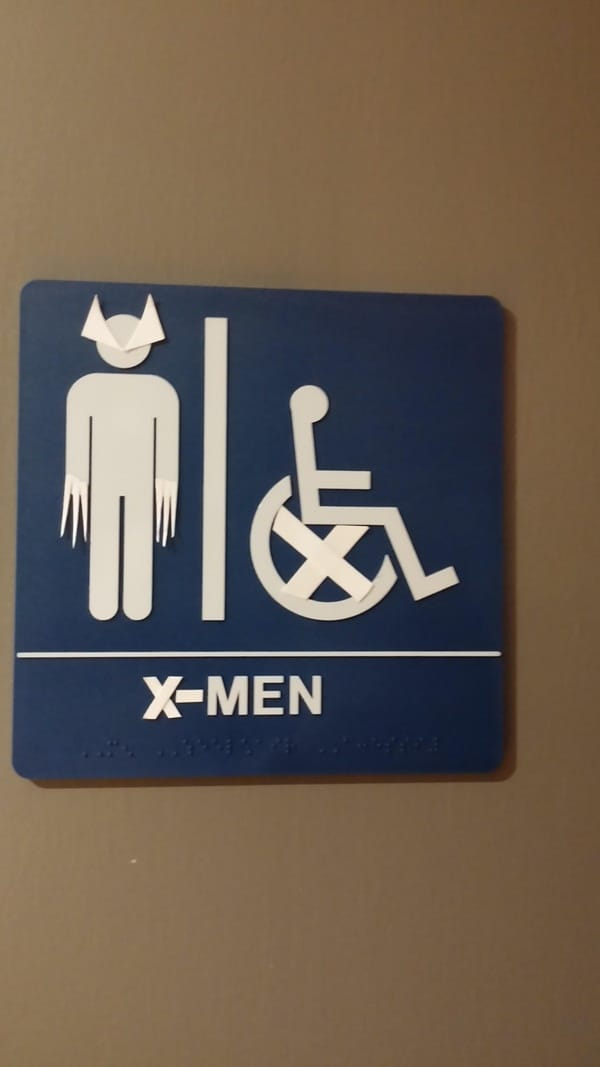 Creative and Hilarious Bathroom Signs