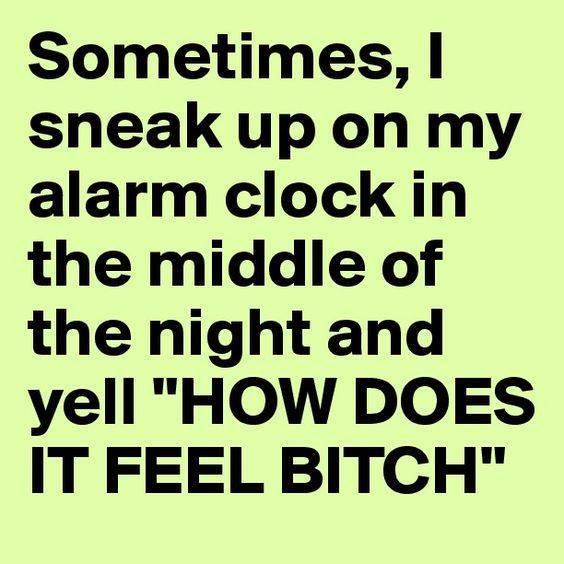 funny pics, lol pics, alarm clock humor, alarm clock jokes