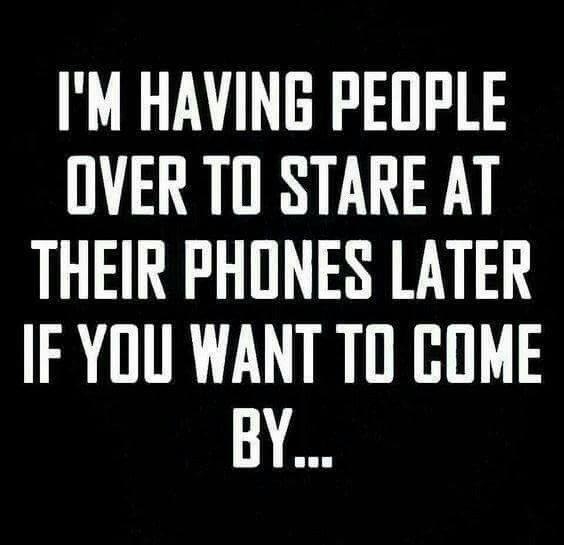 people nowadays, funny, phones
