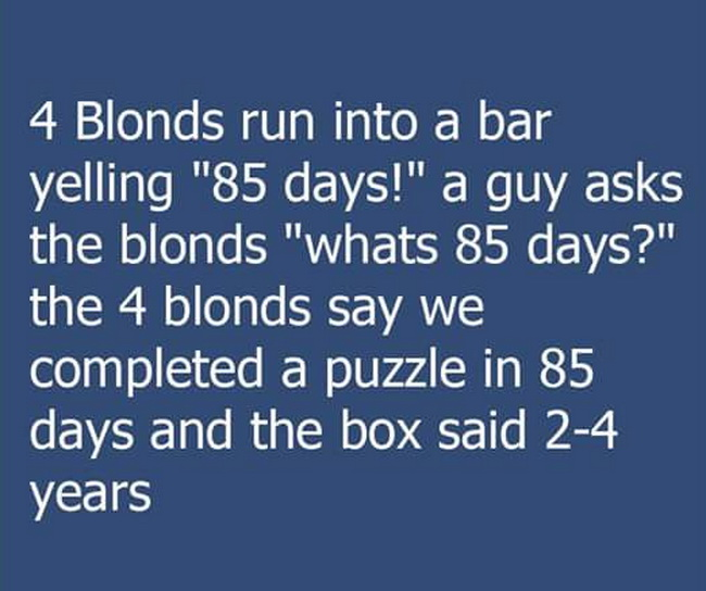 funny pics, lol, blondes jokes, blonde humor