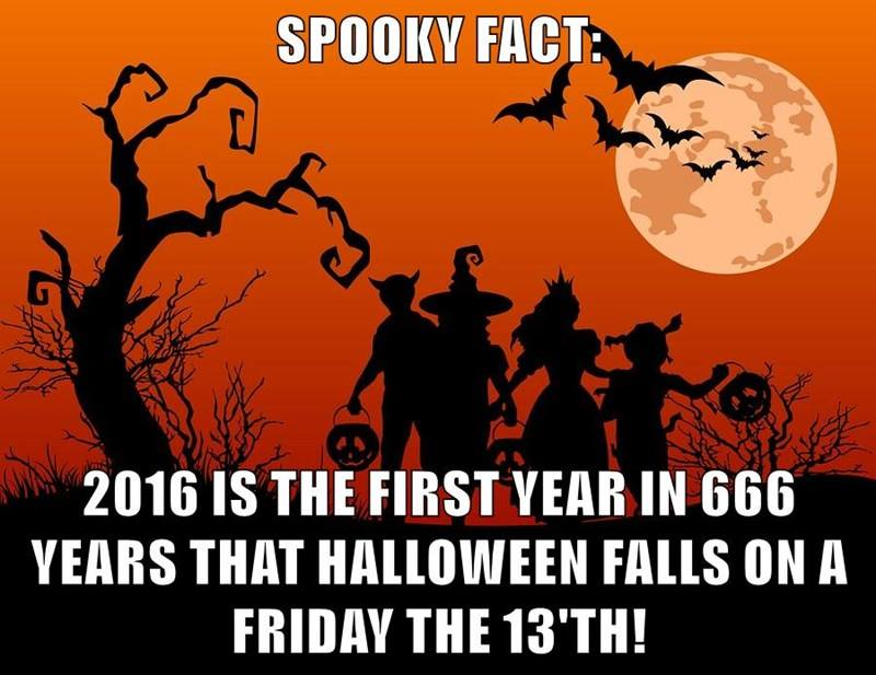 funny facts, lol, funny pics, halloween jokes, friday 13th