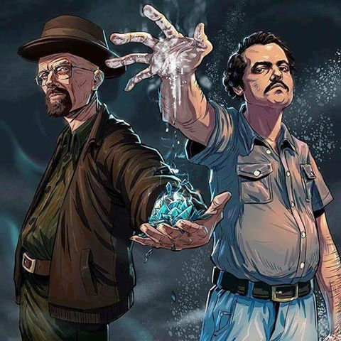walter white and pablo escobar