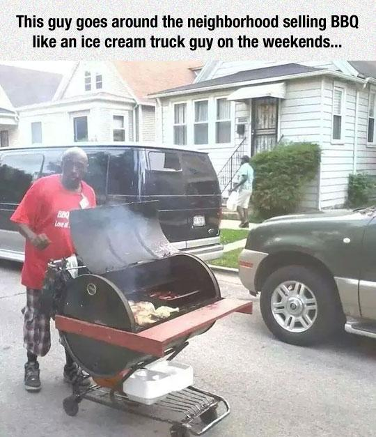 funny pics, lol, portable bbq, bbq jokes