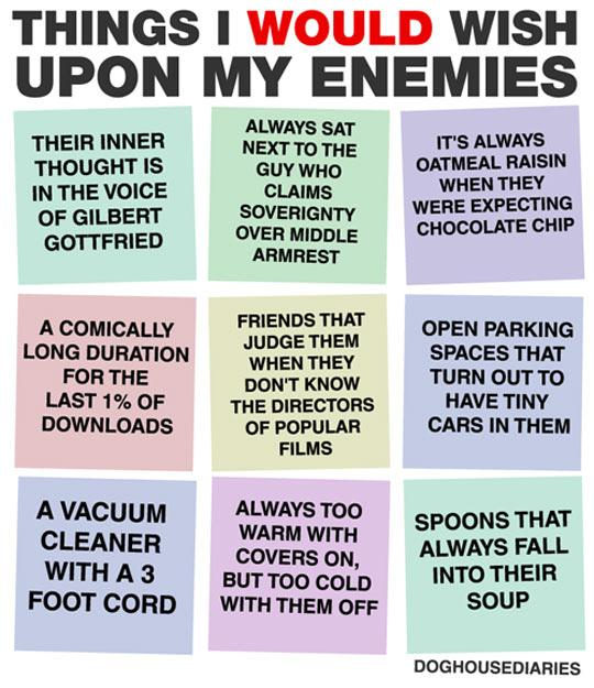 funny pics, lol pics, wishes to enemies