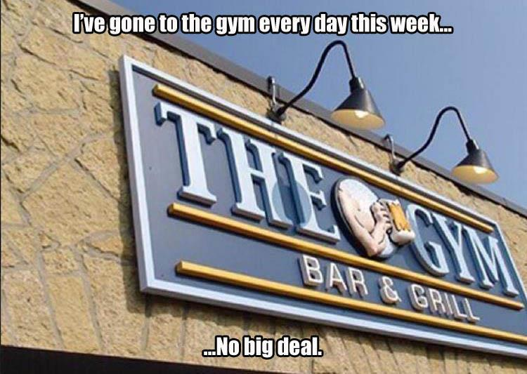 funny pics, lol pics, gym humor, gym bar, funny signs
