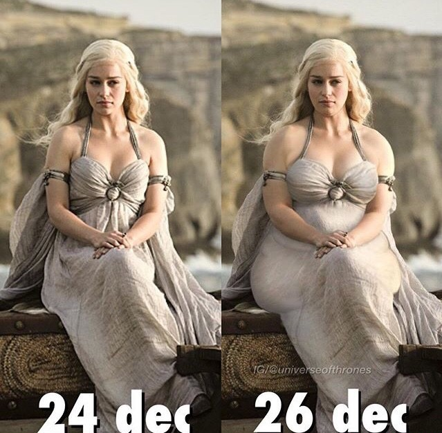 khaleesi holiday humor