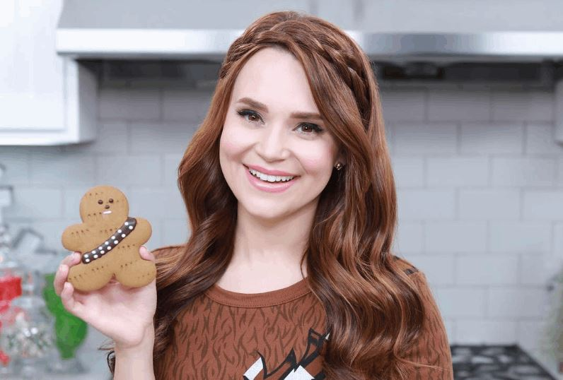 Star Wars Gingerbread Wookiee Cookies