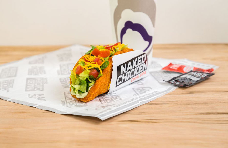 Fried Chicken Taco Shell