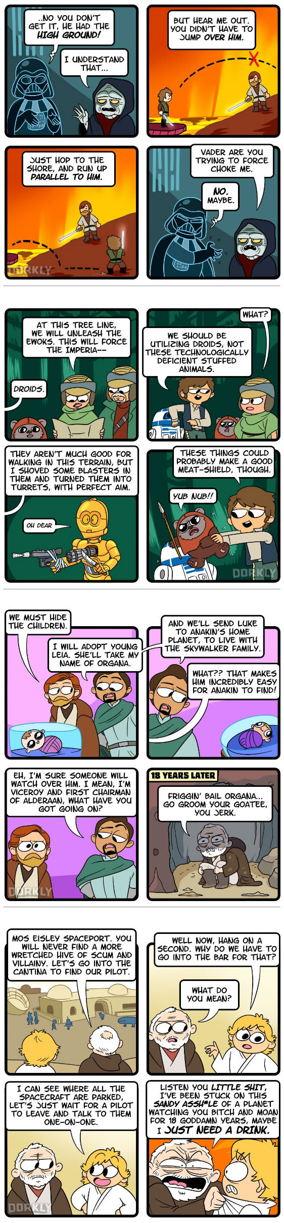 Legit Questions About Star Wars