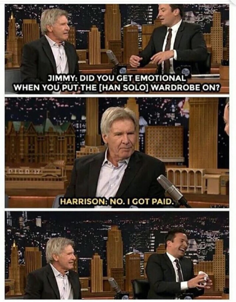 Harrison ford, funny