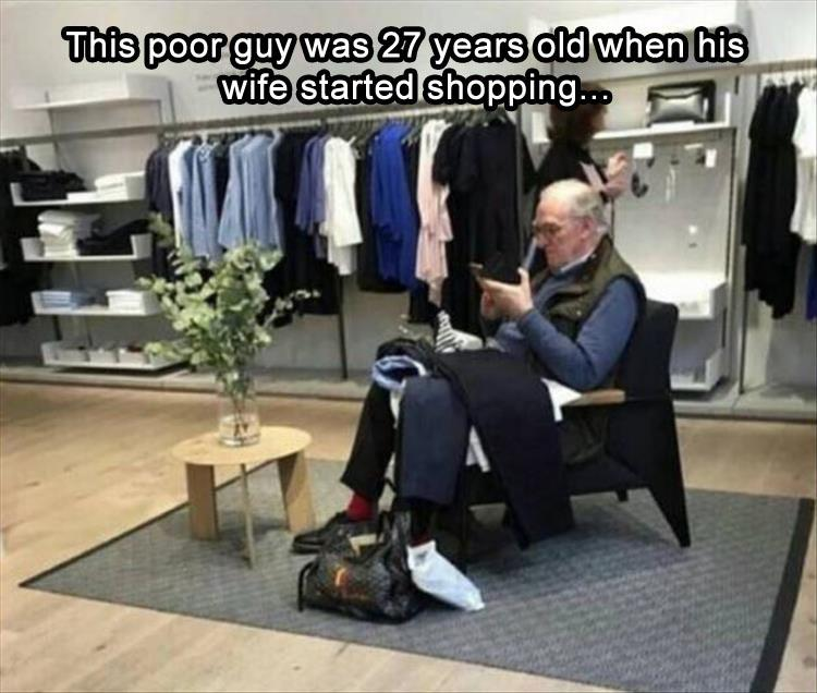 funny pics, lol pics, shopping jokes, shopping with wife,