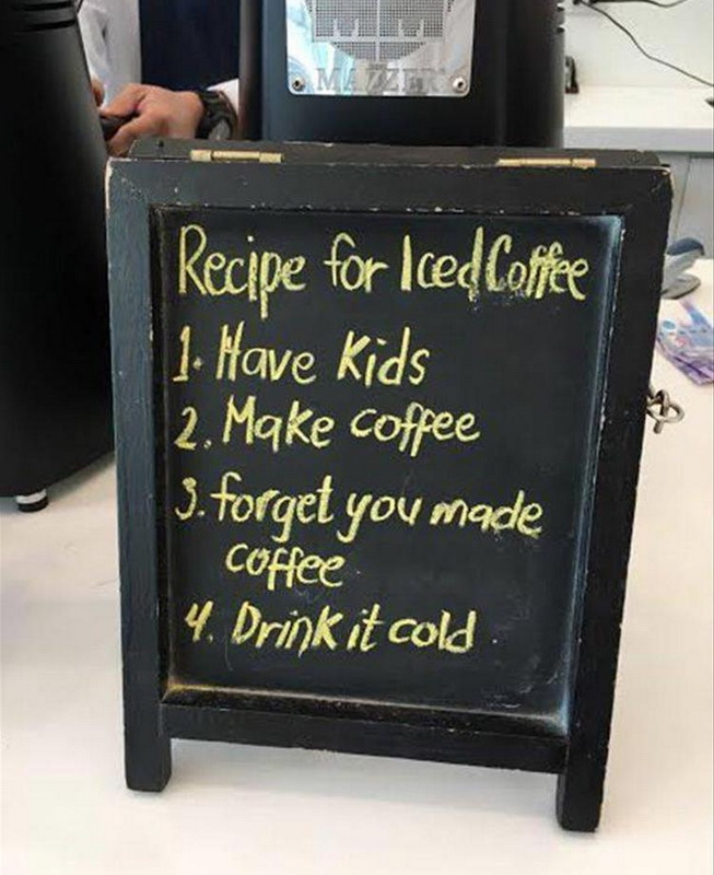 funny signs, lol pics, iced coffee, coffee humor, cold coffee