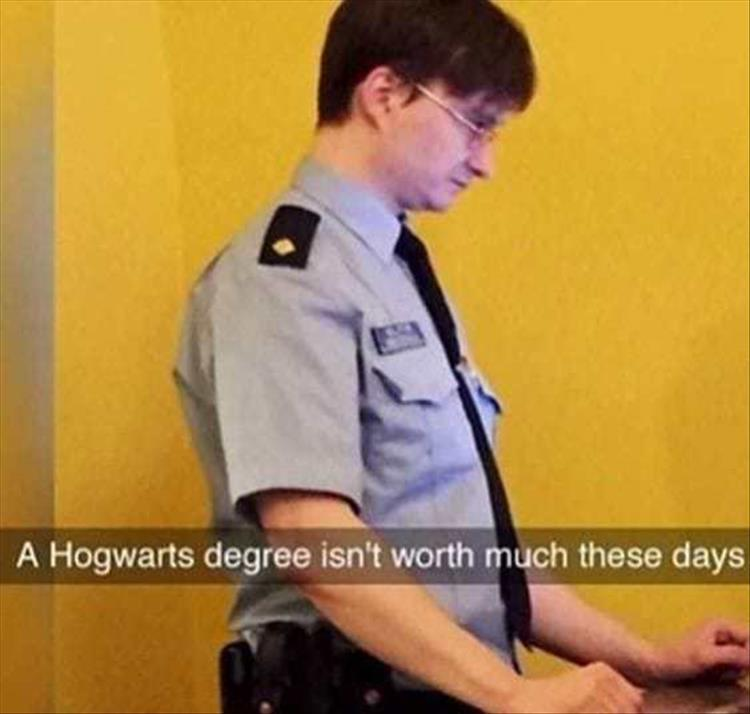 funny pics, lol pics, harry potter humor, hogwarts jokes