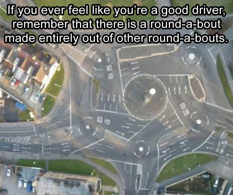Swindon's roundabout, crazy roads, wow, cool, funny