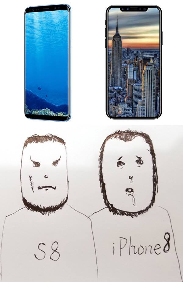 iphone x meme