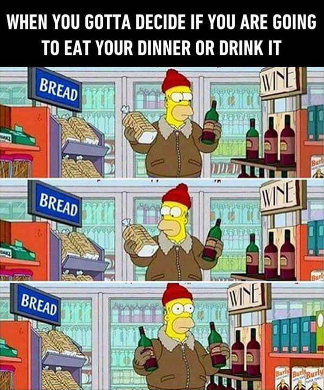 funny pics, lol pics, simpsons humor, bart simpson, wine humor