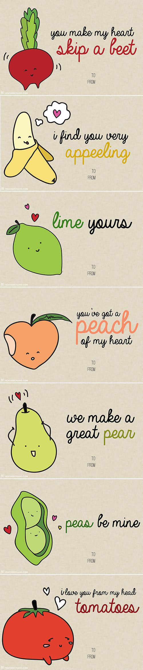 funny pics, cheesy cards, food puns, funny pick-up lines
