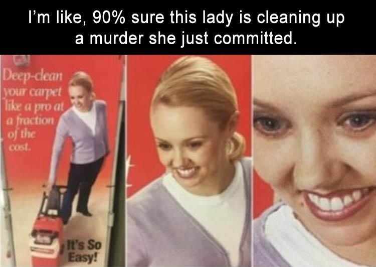 funny ads, lol pics, funny, lol, killer woman
