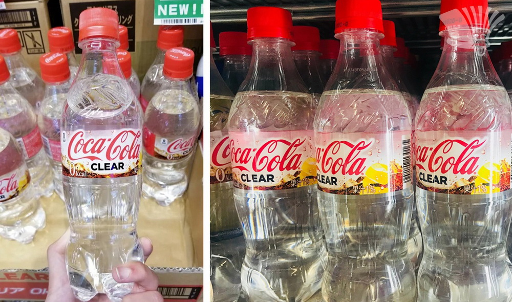 coca-cola clear, water, lol,