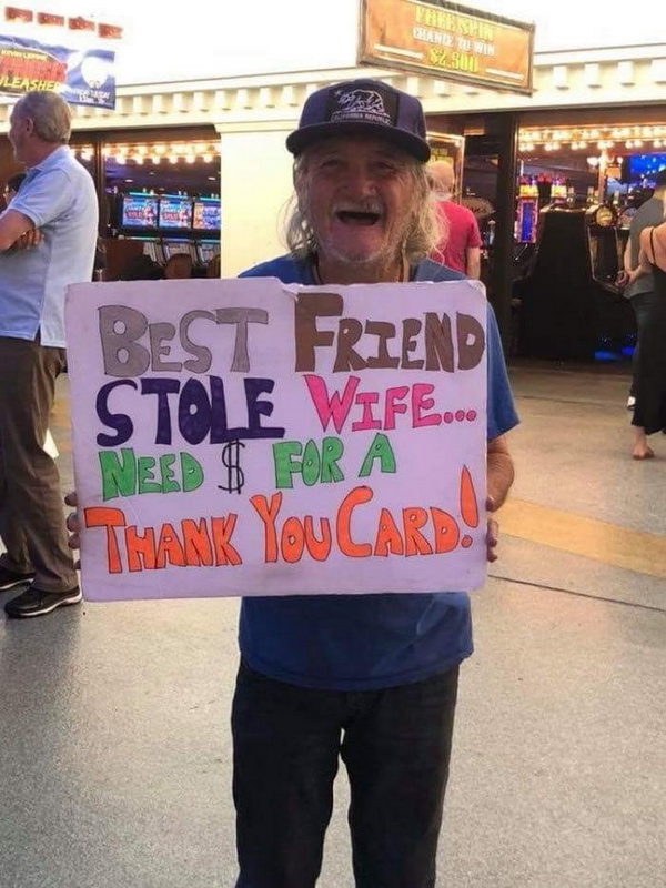 funny pics, lol, funny signs, wife humor, helping friend