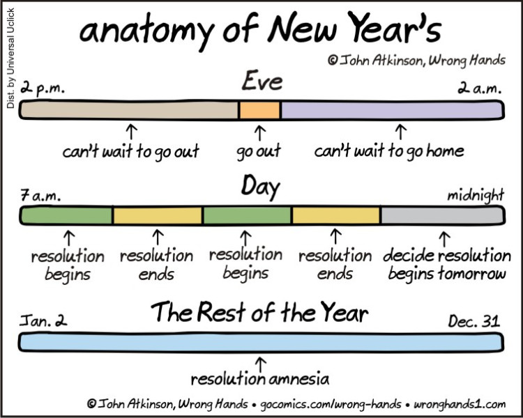 Anatomy of New Year's