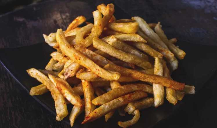 Ramen Powder on French Fries