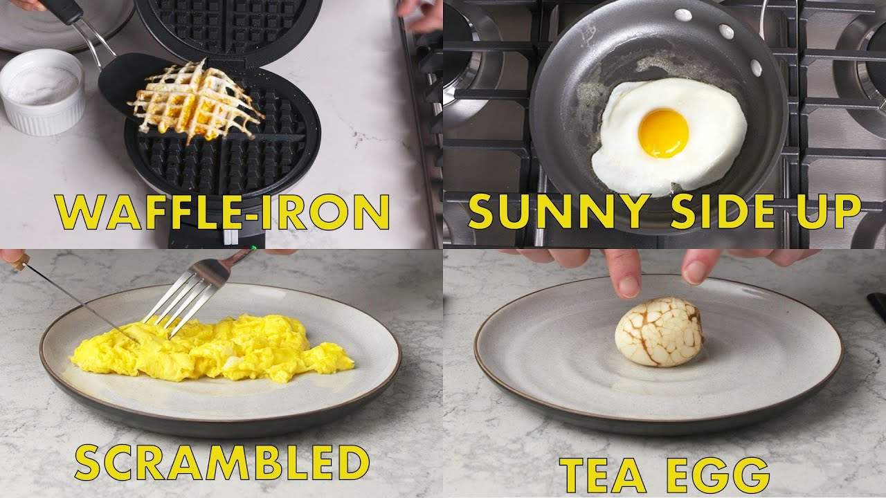 Unique Ways of Cooking Eggs