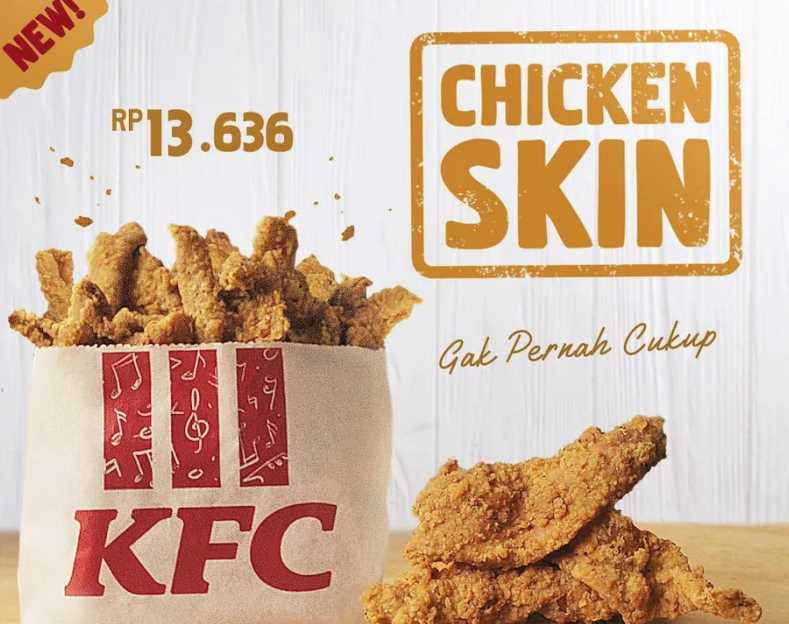 KFC Is Now Serving Chicken Skin In Indonesia