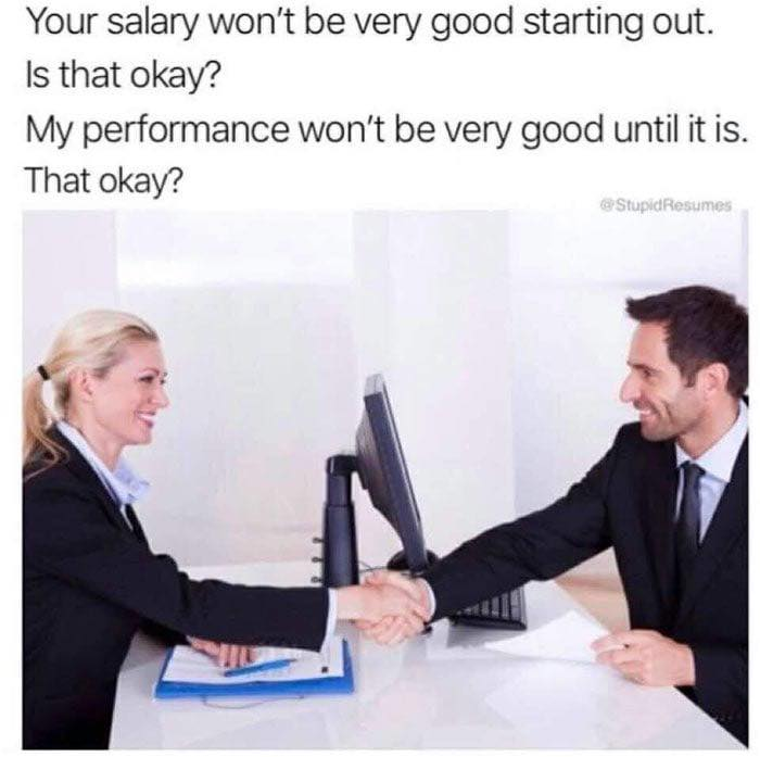 funny pics, lol, job interview, job humor