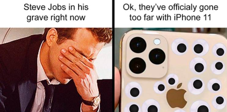 Apple iPhone 11 memes