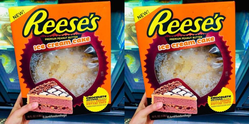 Reese Ice Cream Cake