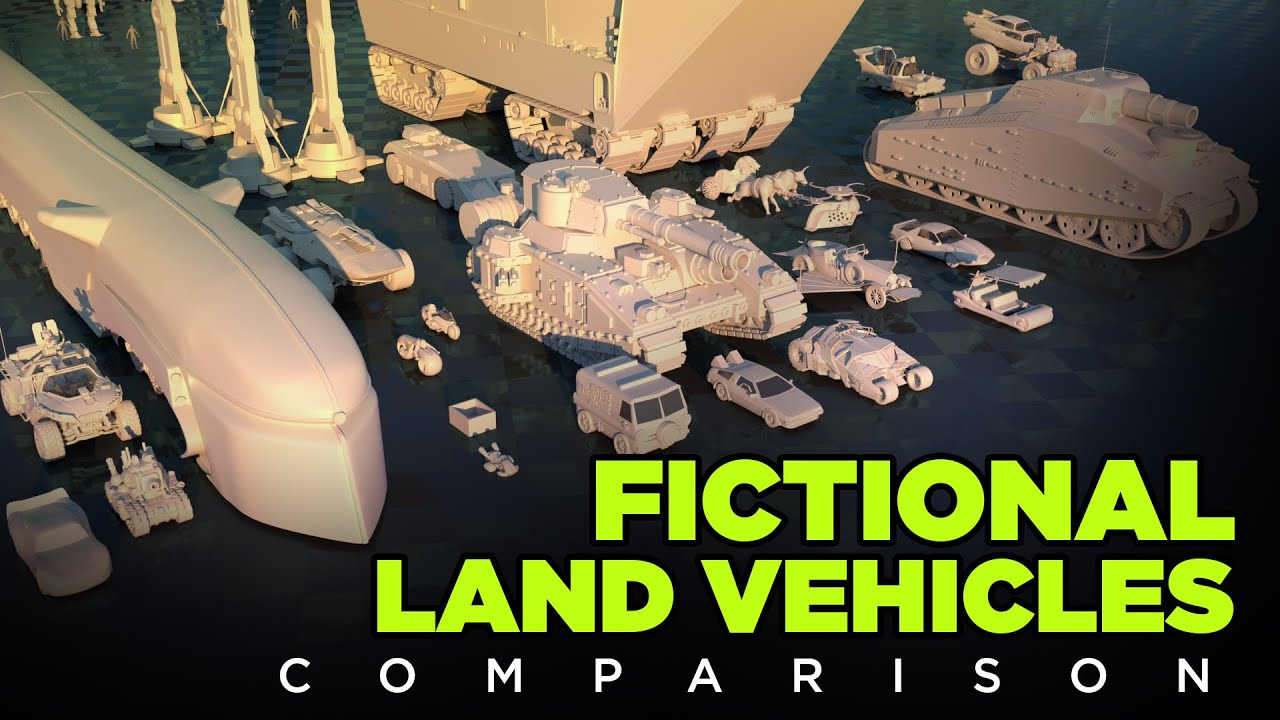 Fictional Land Vehicles