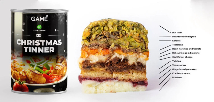 Holiday Dinners In Cans